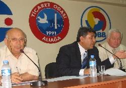 İzmir DTO Aliağa'da denizcileri dinledi