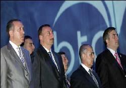 BTC petrol boru hattı resmen açıldı