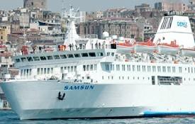 Tatil keyfi gemide başlıyor