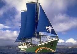 Greenpeace gemisi ziyarete açıldı