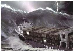 Tsunami Antalya'yı da vurmuş