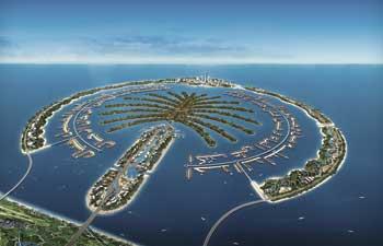 İnsan yapısı ilk ada Dubai'de hazır