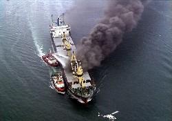 Denizi Kirletene Ağır Ceza