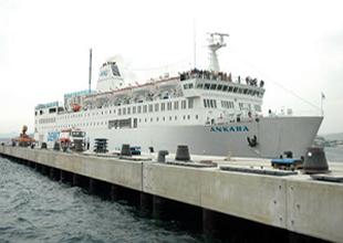 Libya'ya giden yardım gemisi bekletiliyor