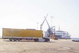 Dikili Limanı'ndan ilk sefer yapıldı