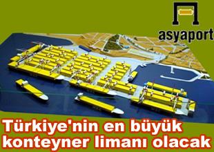 Avrupa'nın 3. büyük limanı bu yıl açılıyor