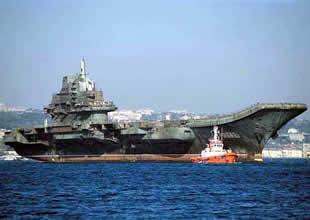 """""""Varyag"""" Çin'in ilk uçak gemisi oldu"""