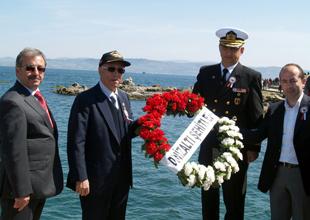 Dumlupınar Deniz Şehitleri törenle anıldı
