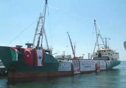 IHH'nın yardım gemileri yola çıktı