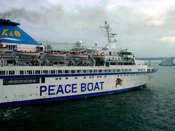 Peace Boat İstanbul'da