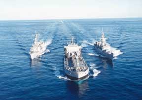 Lübnan'a ilk denizciler gidecek