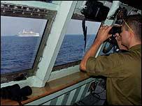 Lübnan kıyılarında BM donanması