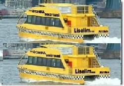 İstanbul'a deniz taksi geliyor