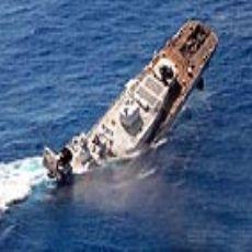 Tamil kaplanlarının gemisi batırıldı