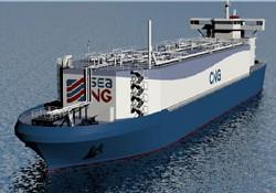 Sıkıştırılmış ilk doğalgaz gemisi