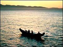 İlk insanlar denizi kullanmış
