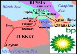 BP, BTC'den petrol akışını artırıyor