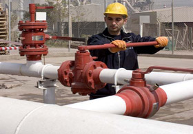 Türkmen gazı Ruslara gitti