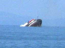 Karadeniz'de yük gemisi battı: 2 ölü