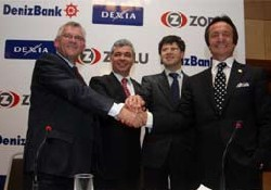 DenizBank'ın devir işlemi gerçekleşti