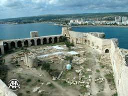 Mersin Kızkalesi restore ediliyor