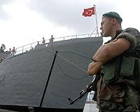 Türk askeri Beyrut'a ulaştı