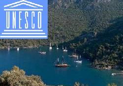 Bodrum koyları Unesco sergisinde