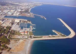 Antalya'da yepyeni bir liman doğuyor