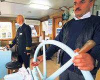 Gemilerin makine daireleri boş kaldı