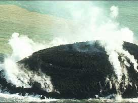 Okyanus volkanik ada doğurdu