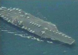 İran, ABD uçak gemisini gözetledi
