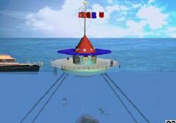 Deniz ortasına yüzer anıt