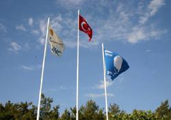 Mavi bayraklı tesisler ön planda