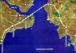 Marmaray Projesi 24 saat izleniyor