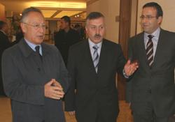 E. Mitropoulos İstanbul'a geldi