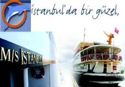 İSTANBUL-9 vapuru Boğaz sularında