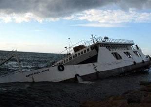 Bir gemi kazası haberide Hindistan'dan