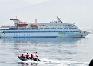 İsrail'den yardım gemilerine  çirkin tuzak