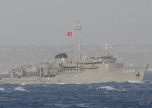 Türk savaş gemileri Ege Denizi'ne açıldı