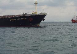 Demirdeki Gemi Karaya Oturdu