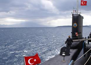 Türk denizaltıları Akdeniz'e gönderiliyor