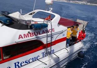 Fethiye'ye deniz ambulansı müjdesi!