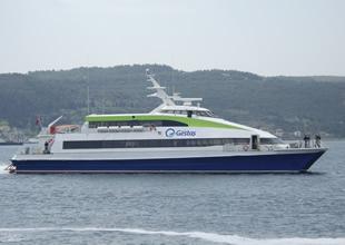 GESTAŞ 8 milyon yolcu 2 milyon araç taşıdı