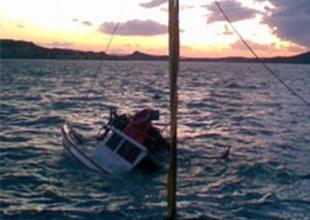 Alabora olan teknedeki işadamı öldü