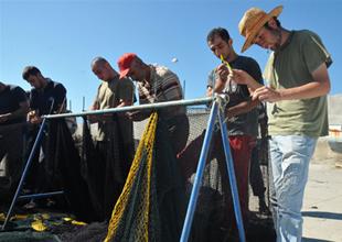 Didim'de balıkçılar sezondan memnun