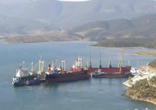 Güllük Limanı'nda kaçak içki operasyonu