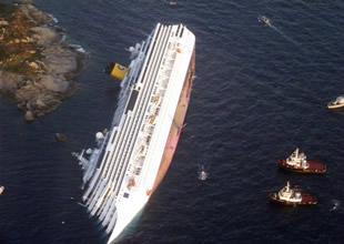 Costa Concordia'nın enkazı kaldırılıyor