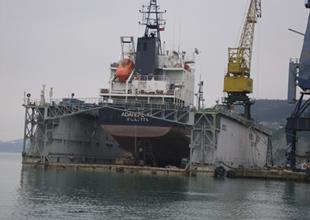 İnebolu Tersanesi'nde gemiler bakım ve onarım için sıraya girdi