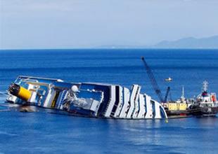 Tersanecilerde 'Costa Concordia' heyecanı