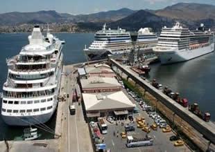 İzmir kruvaziyer turizminin başkenti oluyor